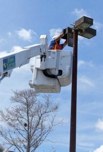Bucket Truck Electrical Services Tampa Bay