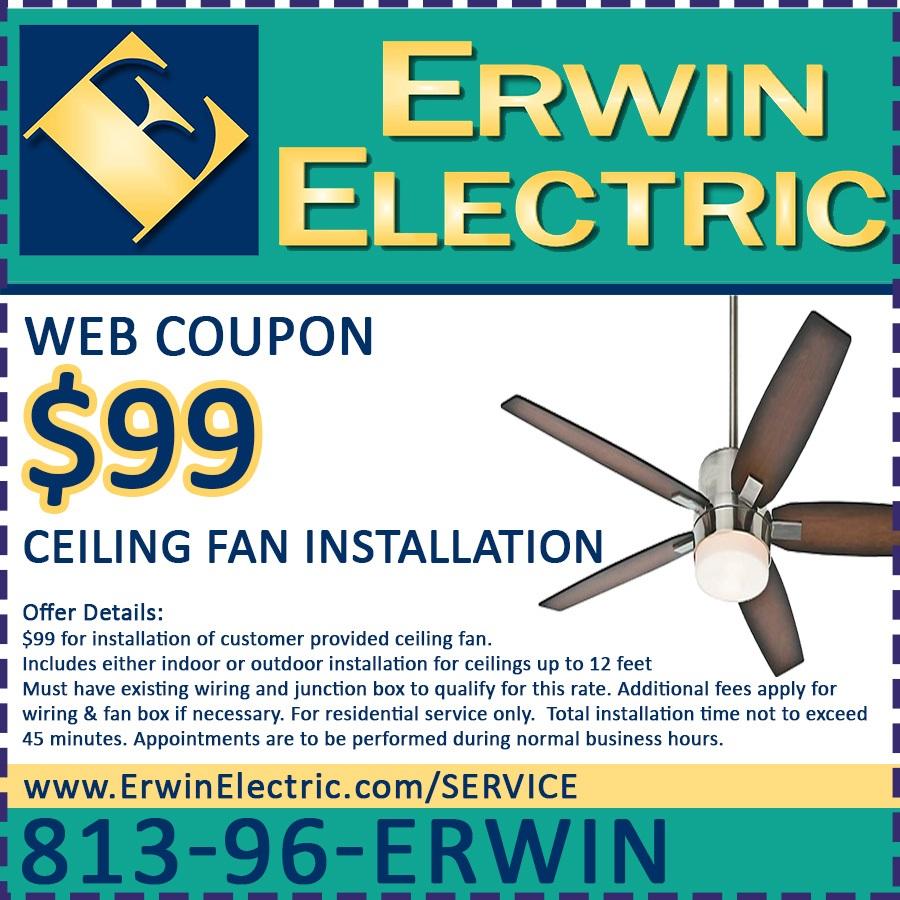 Coupons » Erwin Electric