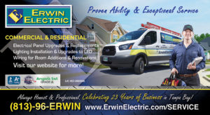 Commercial & Residential Electrical Services Postcard