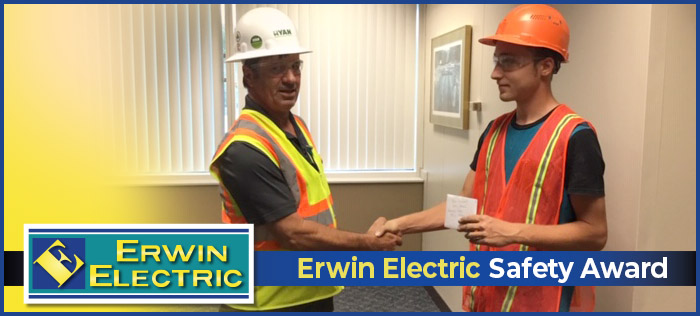 Erwin Electric Safety Award