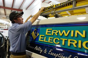 erwin electric commercial service