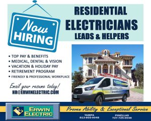 erwin electric now hiring